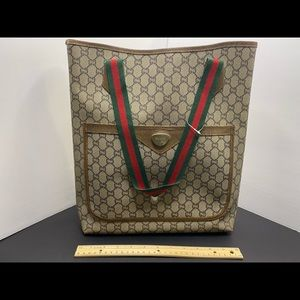 Gucci Vintage Gg shopper tote bag